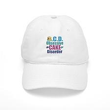 Cute Cake Baseball Cap