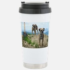 two bts and shovel Travel Mug