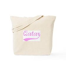 Vintage Qatar (Pink) Tote Bag