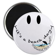 Its-A-Beach-Day-Wildwood,-New-Jersey Magnet