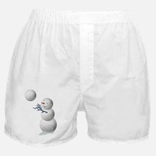 Volleyball Snowman Christmas Sports L Boxer Shorts