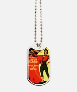 Carmen Opera Poster Dog Tags