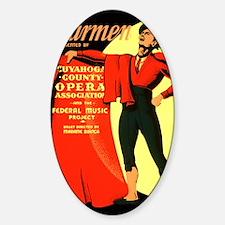 Carmen Opera Poster Decal