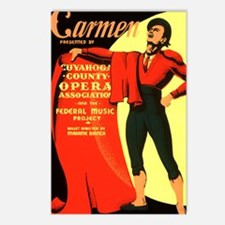Carmen Opera Poster Postcards (Package of 8)