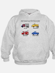 My Favorite Trucks Hoodie