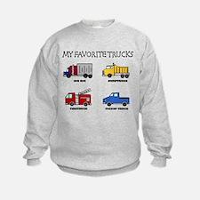 My Favorite Trucks Sweatshirt
