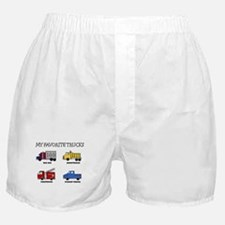 My Favorite Trucks Boxer Shorts