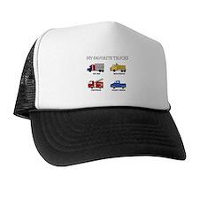 My Favorite Trucks Trucker Hat
