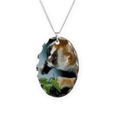 Portrait of slow loris Necklace