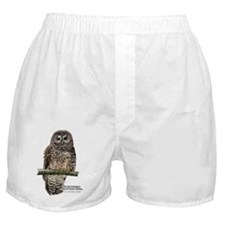 Northern Spotted Owl Boxer Shorts