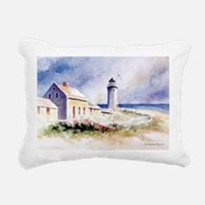 ScituateLtRosesCPCard Rectangular Canvas Pillow