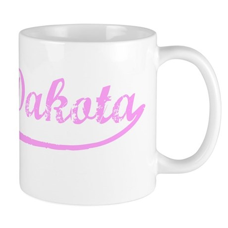 Vintage North Dakota (Pink) Mug