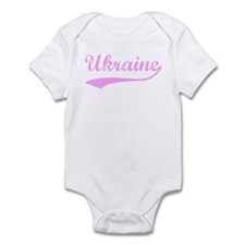 Vintage Ukraine (Pink) Infant Bodysuit