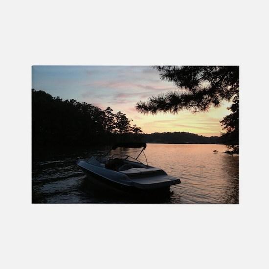 Lake Sunset Magnets