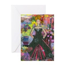 True to Herself Greeting Card