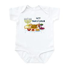 Thanksgivukkah Infant Bodysuit