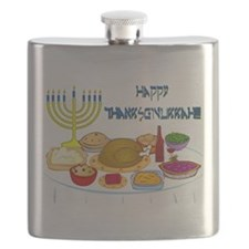 Thanksgivukkah Flask