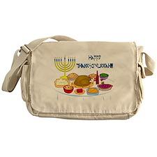Thanksgivukkah Messenger Bag