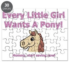 Little pony - mommy BIB Puzzle