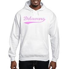 Vintage Delaware (Pink) Hoodie