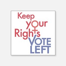 "KeepYourRights Square Sticker 3"" x 3"""