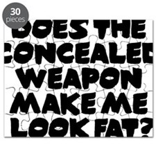 Does The Concealed Weapon Make Me Look Fat? Puzzle