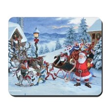 SANTA'S LIST Mousepad