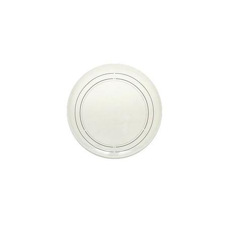 Peace Row White Mini Button