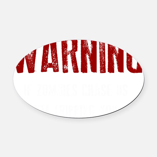 1 Oval Car Magnet