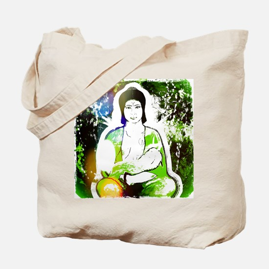 Green Quan Yin Tote Bag