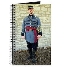 Confederate Reenactor Notecard jpeg Journal