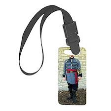 Confederate Reenactor Notecard j Luggage Tag
