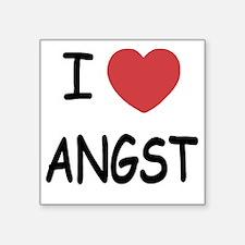 "ANGST Square Sticker 3"" x 3"""