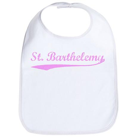 Vintage St Barthelemy (Pink) Bib