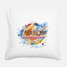 khandromas Square Canvas Pillow