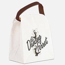 Dancing Ferret Canvas Lunch Bag