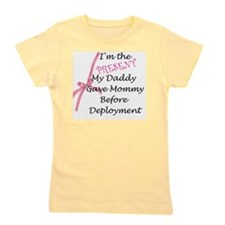 Present from Daddy-Girl Girl's Tee