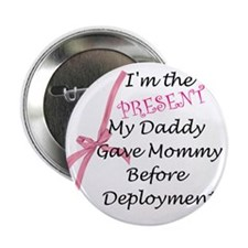 """Present from Daddy-Girl 2.25"""" Button"""