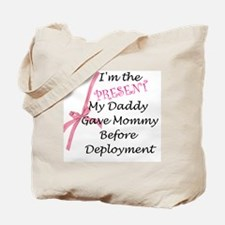 Present from Daddy-Girl Tote Bag