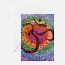 chakraomlrge Greeting Card