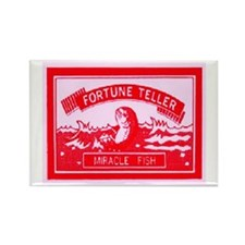 FORTUNE TELLER MIRACLE FISH Rectangle Magnet