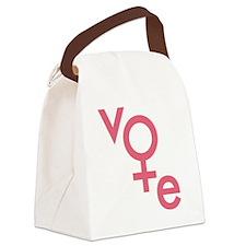 Women Vote Canvas Lunch Bag