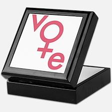 Women Vote Keepsake Box