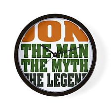 Jon - the Legend Wall Clock