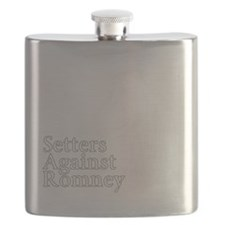 Irish Setter3Romney-dark Flask