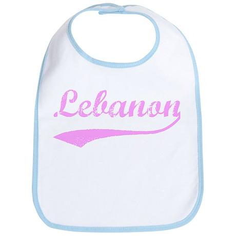 Vintage Lebanon (Pink) Bib