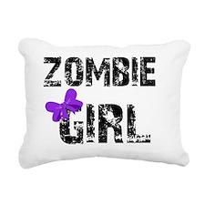 zombiegirldark Rectangular Canvas Pillow