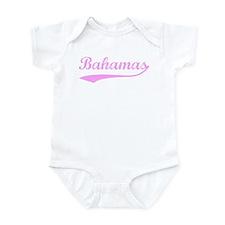 Vintage Bahamas (Pink) Onesie