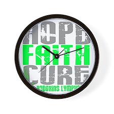D LYMPHOMA NON D Wall Clock