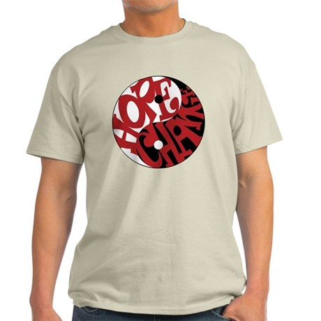The Yin Yang Of Hope And Change Light T-Shirt